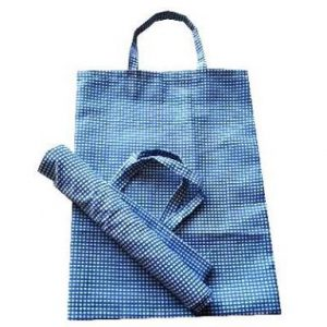 cotton self weave vegitable carry bag