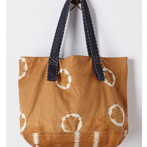 tie-dye cotton carry bag